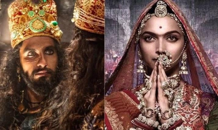 فلم میں دپیکا پڈوکون رانی پدمنی جبکہ رنویر سنگھ علاؤالدین خلجی کا کردار ادا کررہے —۔