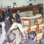 Police Look On As Multan Lawyers Run Amok At New Judicial Complex Newspaper Dawn Com