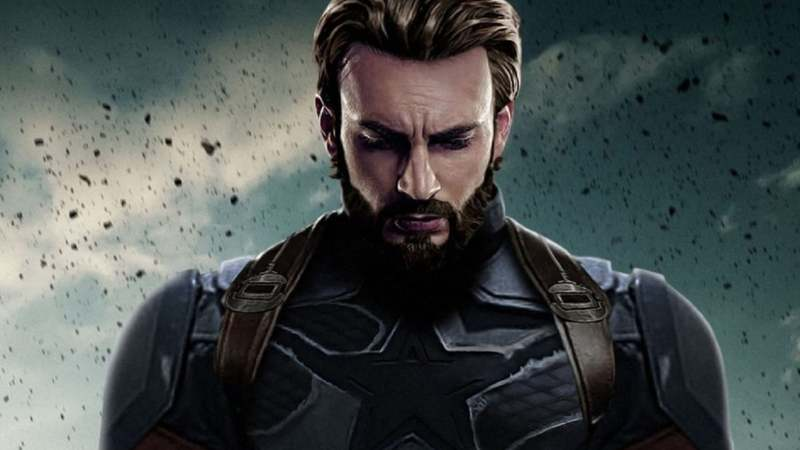 Chris Evans hangs up Captain America shield with a