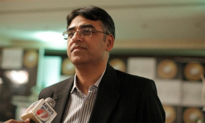 Image result for Finance Minis­ter Asad Umar, photos