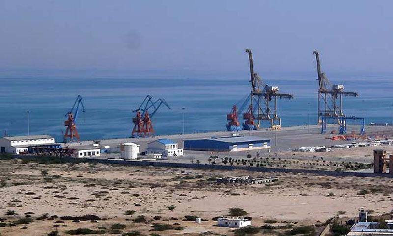 The rail link funded primarily by China would connect Xinjiang's western city Kashgar to the Gwadar deep sea port of Pakistan. — File photo