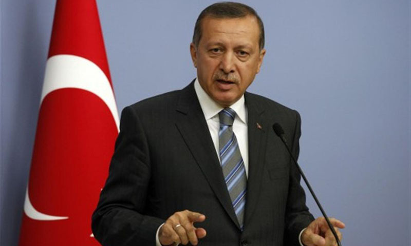 Turkish Prime Minister Recep Tayyip Erdogan. -File Photo