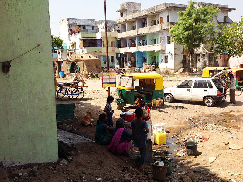 If you want to witness a complete absence of state in India, go to the slum of any city.