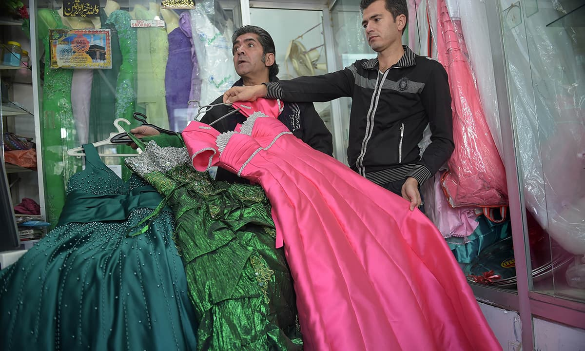 Dressmakers Bring Touch Of Old Afghanistan To Pakistan