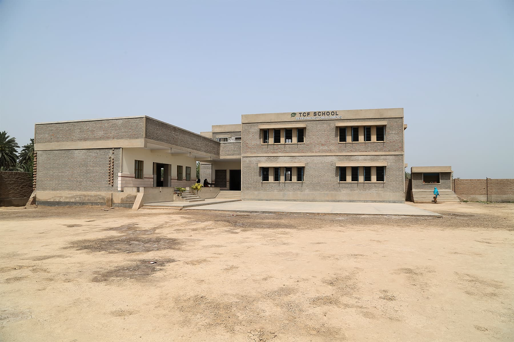 The TCF school in Gambat. - Photo by Mustafa Ilyas