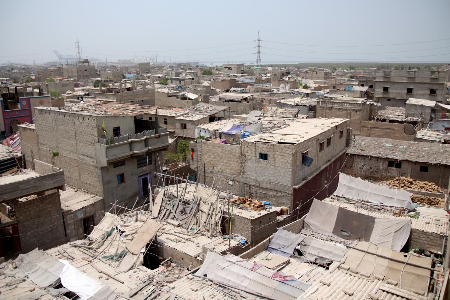 Machar Colony.