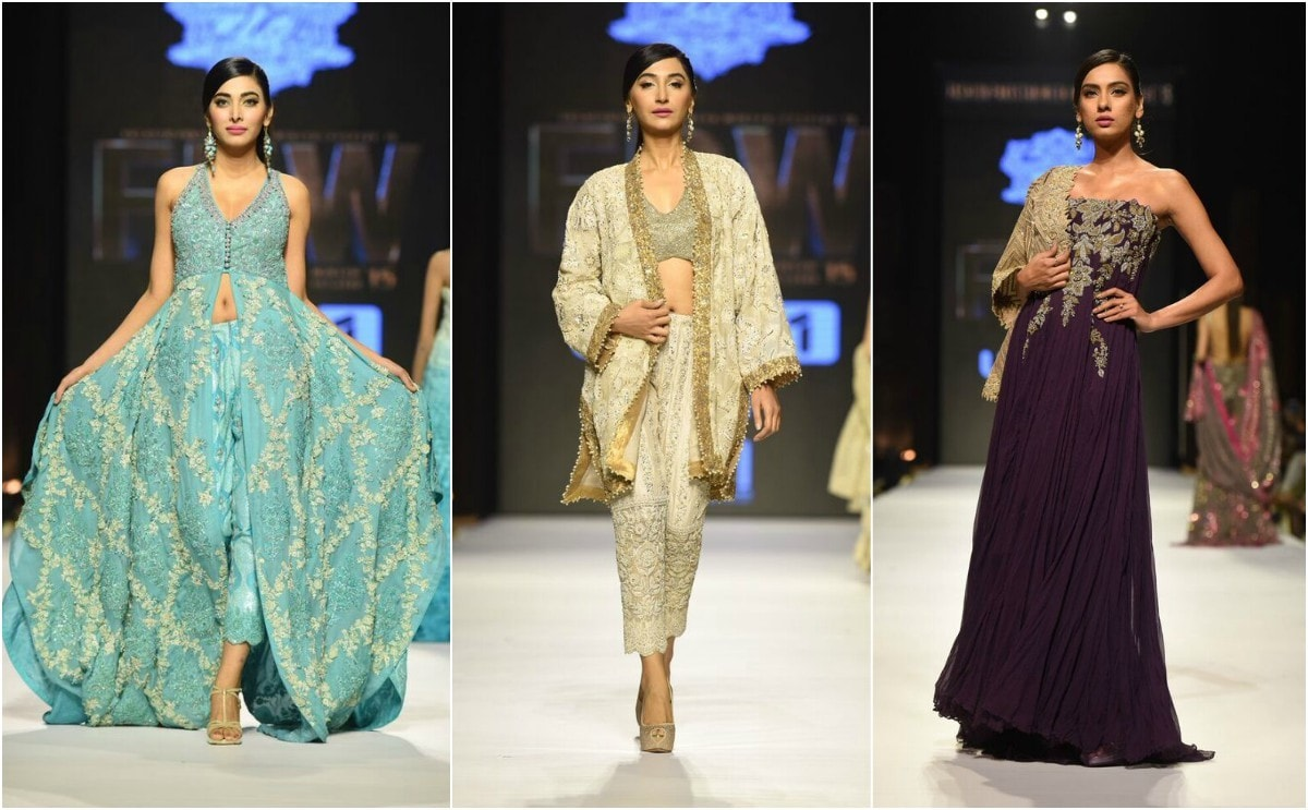 Umar's collection was all about dare to bare the cold shoulder