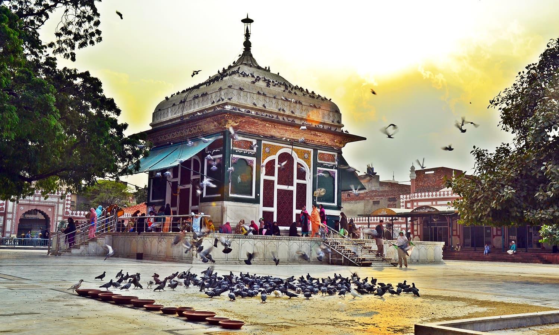 Mian Mir shrine, Lahore
