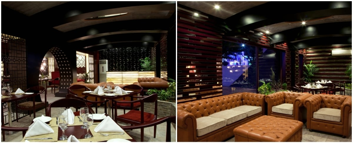 Zucchini is open for both lunch and dinner, but its dark interiors may cause you to grab a window seat during the day
