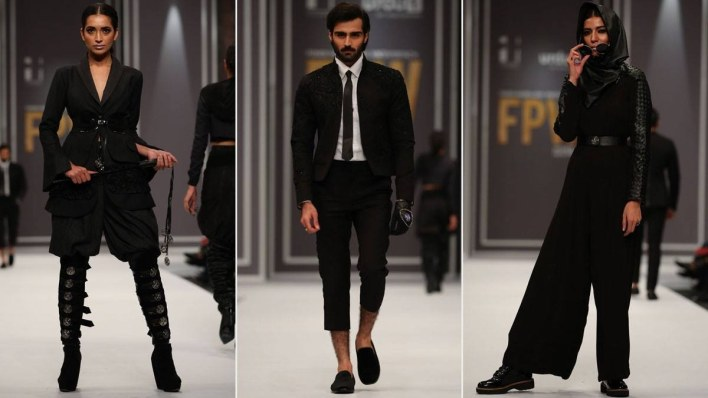 HSY's Onyx was all black, constructed with hand-textured fabric