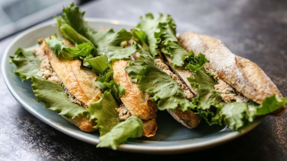 Freshly made tuna and salad sandwiches at Loafology — Photo credit: Loafology's Facebook page