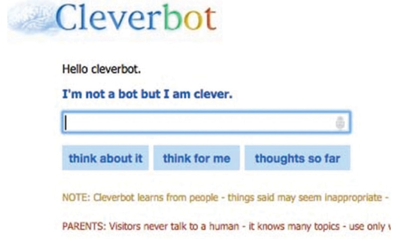 cleverbot chat with ai