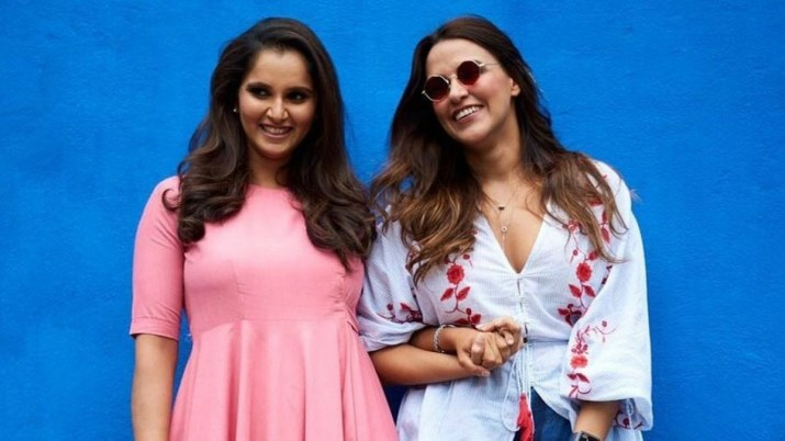 Sania Mirza of the No Filter Neha show