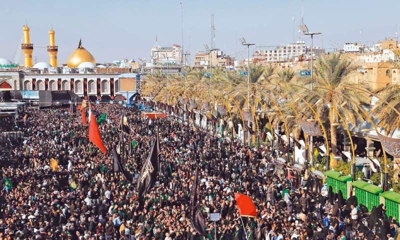 millions attend arbaeen commemoration