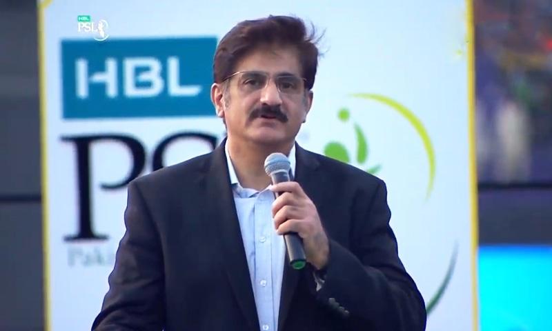 Sindh Chief Minister Murad Ali Shah. —DawnNewsTV