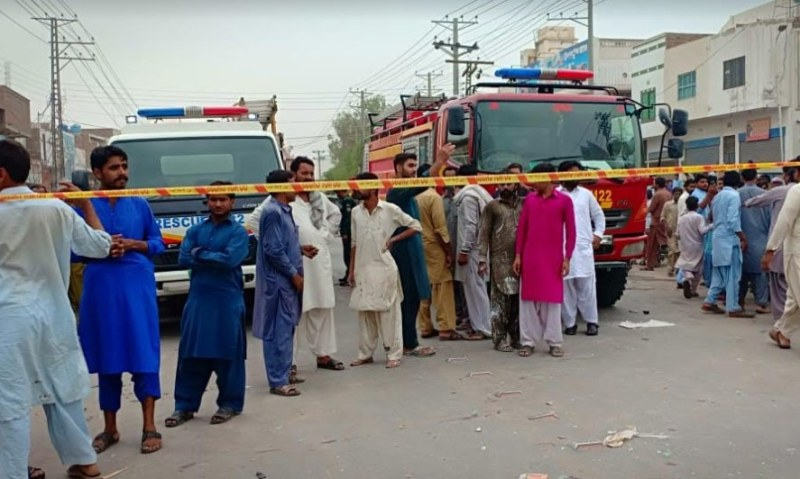 Rescue operation underway; nature of the explosion yet to be determined. — DawnNewsTV/File