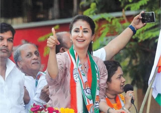 ارمیلا مٹونڈکر حال ہی سیاسی میدان میں اترنے والے اداکاروں و اداکاراؤں کی نئی کھیپ میں سے ایک ہیں، انہوں نے بھارتی انتخابات میں کانگریس کی ٹکٹ پر  انتخاب لڑا تاہم ان کے حلقے میں بی جے پی کے امیدار کامیاب قرار پائے—اے پی