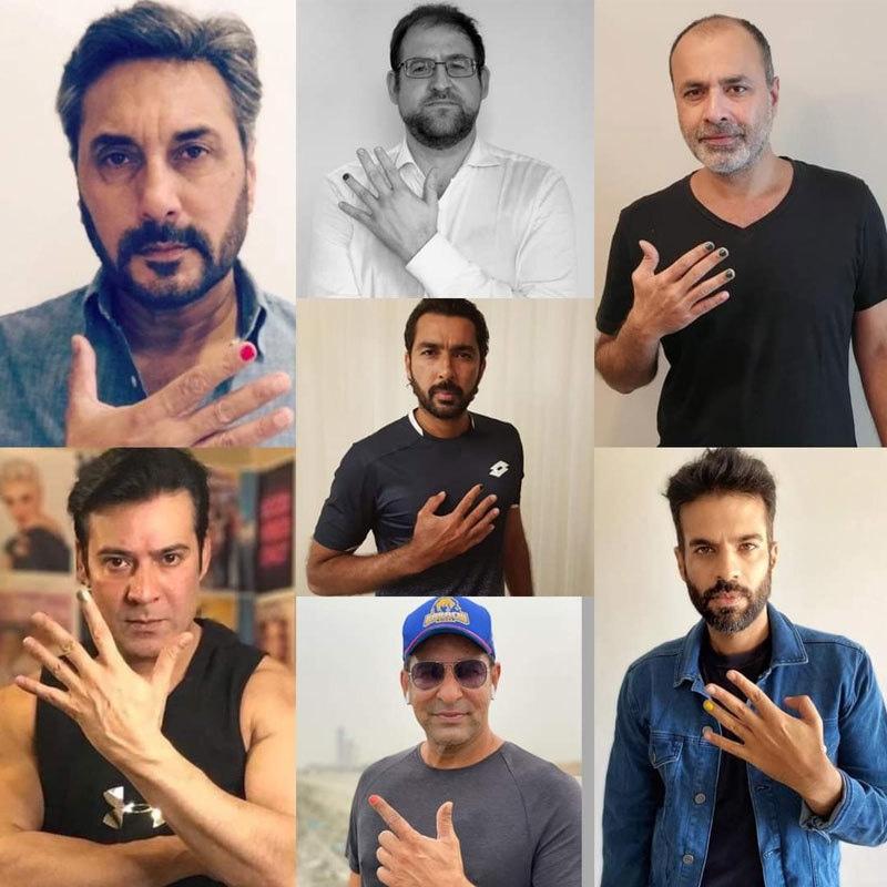 پاکستانی مرد حضرات کی نیل پالش لگانے کی انوکھی مہم