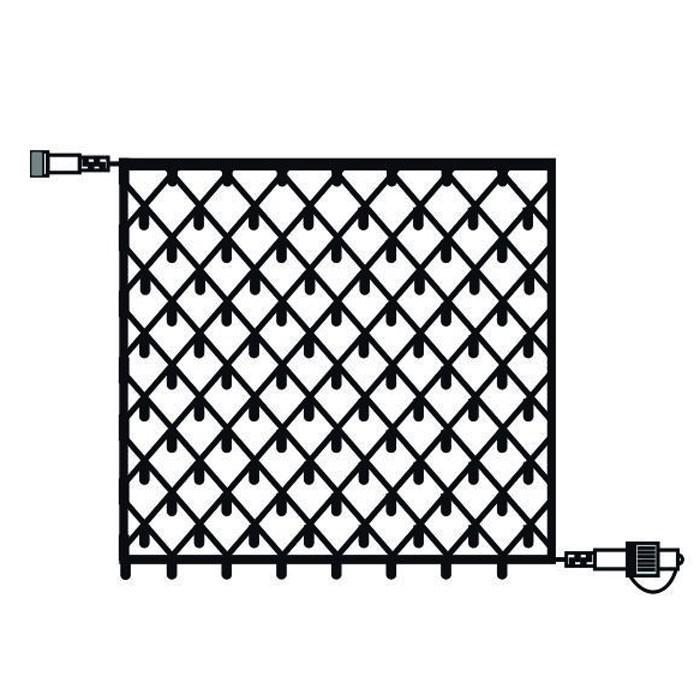 Dedeman Plasa Craciun, Hoff Net 735120, 108 LED-uri