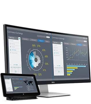 Dell UltraSharp 34 Curved Monitor - U3415W - Productive across all screens