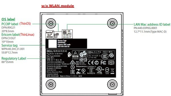computer ports diagram jual pioneer avh x8750bt 440 dell wiring online identify your thin client us