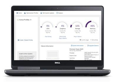 DellPrecision15 série7520: améliorez votre productivité avec l'outil DellPrecisionOptimizer