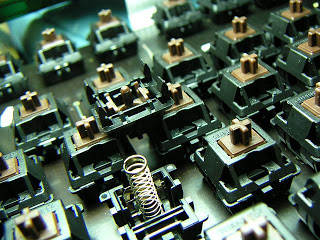 機械鍵盤和薄膜式鍵盤的區別 - ott板 - Disp BBS