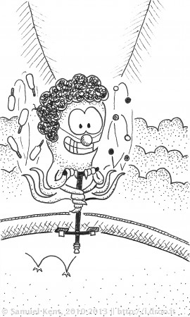 #477 – Juggling Octopogo