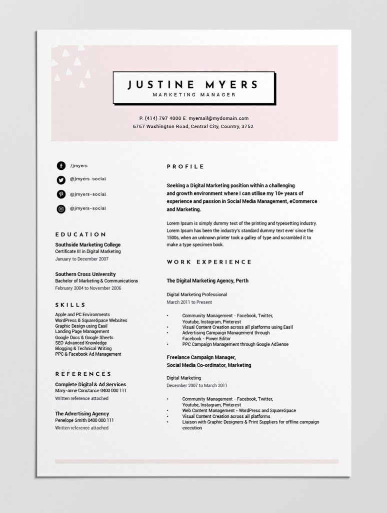 How To Create A Resume Template 12 Best Free Resume Templates Tips On How To Stand Out Easil