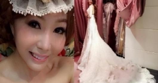2012年與邵昕離婚的婷婷愛上補教老師,結果婚紗都拍好了,男方卻發生這件事...