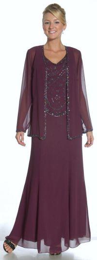 Formal modest Mother of The Bride Groom Dress Jacket ...