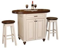 3 PC Pub Table Chairs Set Kitchen Island Snack Bar Height ...