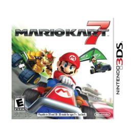 Mario Kart 7 game cover box art