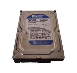 Western Digital 500GB PC Festplatte Intern SATAIII 7200RPM 3,5 Zoll WD5000AAKX