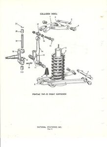 1949-1950-1951-1952-1953-1954-Pontiac-NOS-Front-Suspension