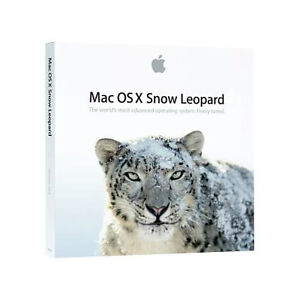 Apple MAC OS X Snow Leopard 10.6.3 Brand New Sealed Retail Install DVD MC573Z/A