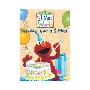 Elmo S World Elmo S World Birthdays Games More Dvd New