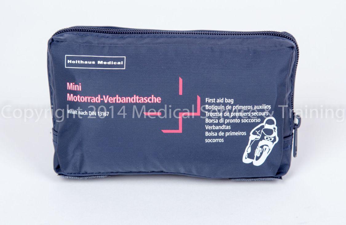 Motorrad Roller Verbandtasche Verbandkasten DIN 13167 Erste Hilfe Mini  MHD 2023