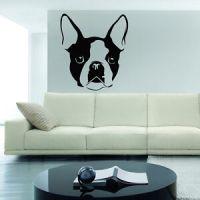 French Bulldog Wall Decal sticker vinyl decor mural ...
