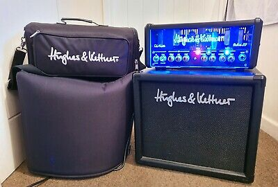 Hughes And Kettner Tubemeister Deluxe 20 Head & TM-110 Cab