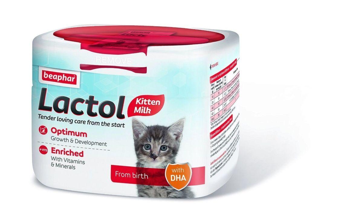 Beaphar 250g Kitty Milch Lactol Katzenmilch Pulver Aufzucht Ersatzmilch