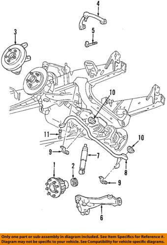 ford ka front suspension diagram 1994 taurus radio wiring oem shock absorber 6l3z18124ld ebay 7 on only genuine oe factory original item