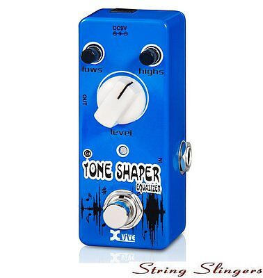 Xvive V15 Mini Tone Shaper Equalizer Effects Pedal, XV15