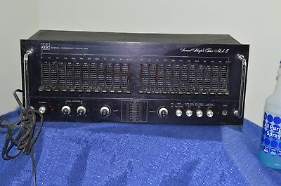 vintage pro audio ADC Stereo Frequency Equalizer Sound Shaper Two Mark II SS-2