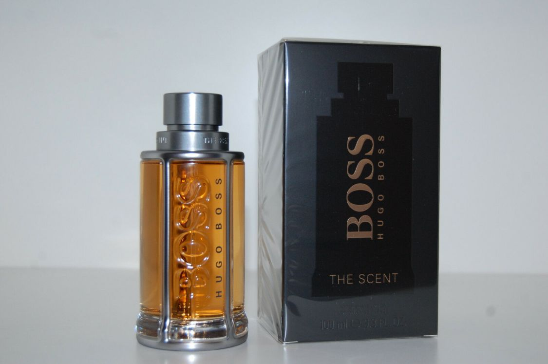 Hugo Boss The Scent 100 ml After Shave Lotion Après Rasage Aftershave Neu / OvP