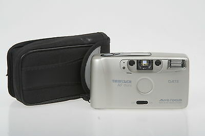 Traveler AF-Mini Date, KB-Sucherkamera mit Tasche