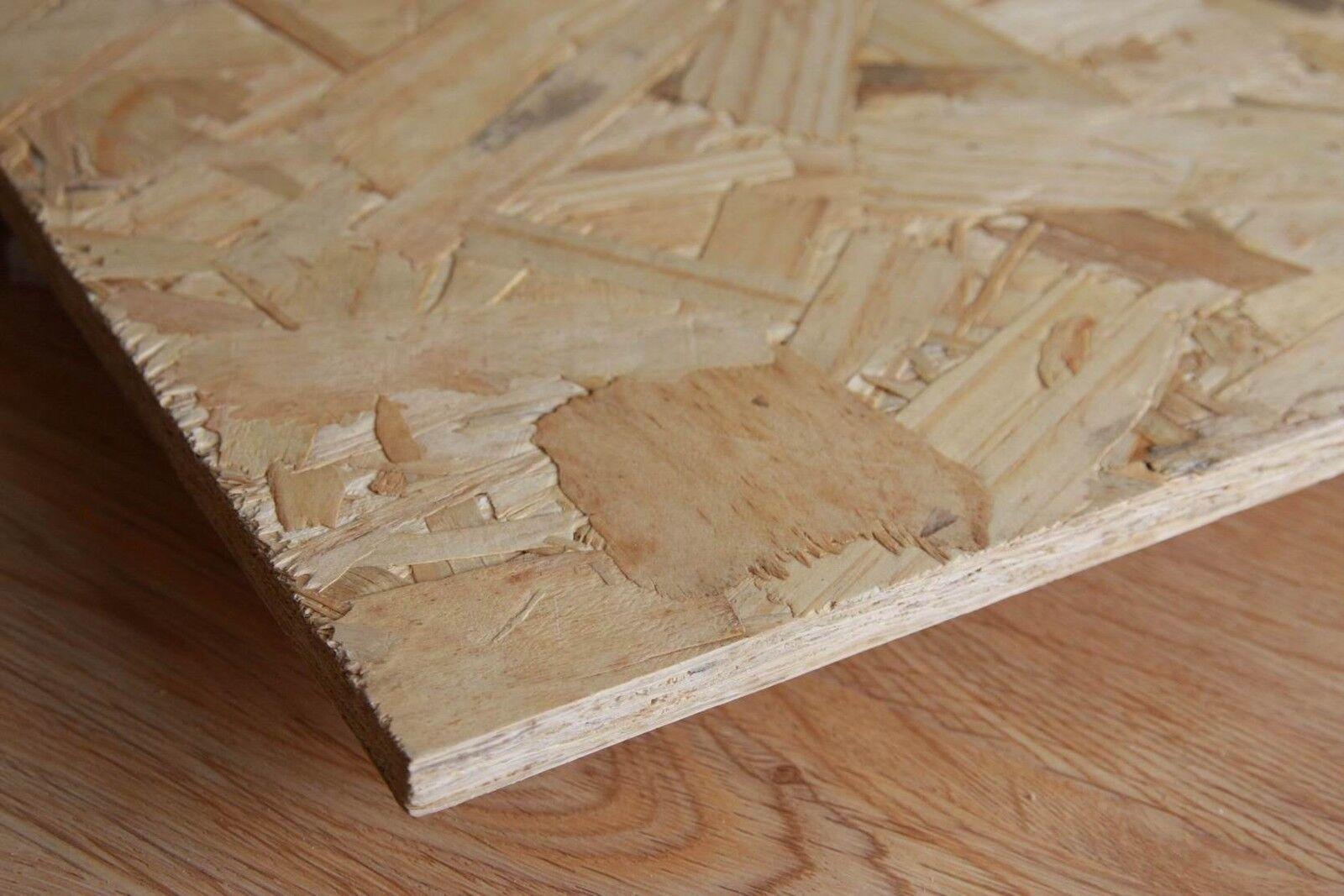 Pannello in legno OSB3 mm 9  12  15  18  22  Dimensioni cm 250 X 125  eBay
