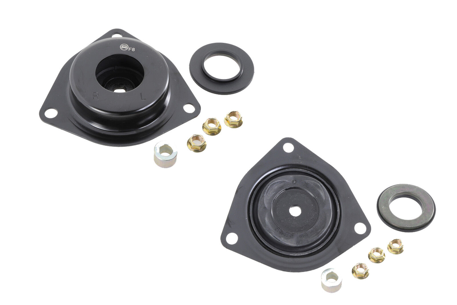 small resolution of details about suspension replacement parts front strut mounts lh rh for nissan pathfinder 04