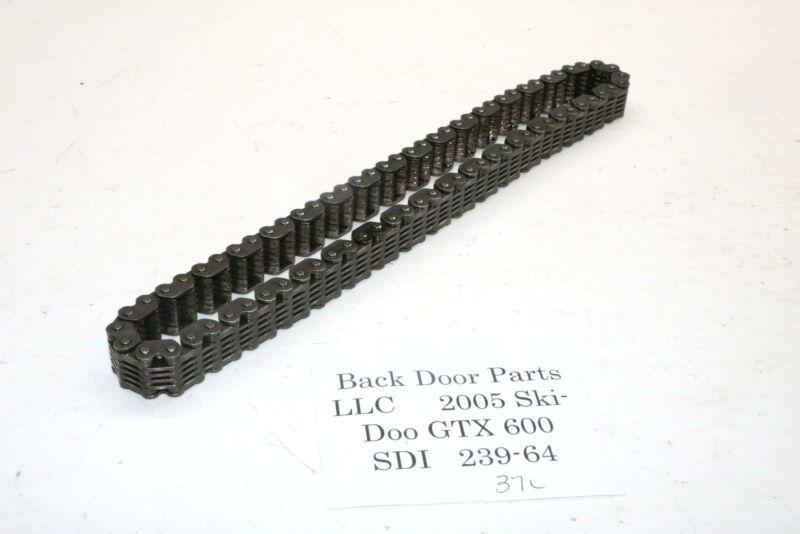 2005 Ski-doo Gtx 600 Sdi Rev Track Drive Chain 37 Link 74