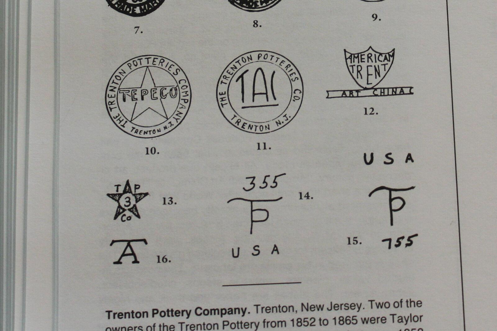 TAC TEPECO Trenton Pottery NJ New Jersey Art Signed Studio